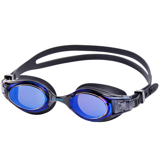 POQSWIM Polarized Swim Goggle Hydrospex Mirrored Goggle with Anti-fog
