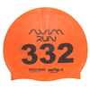 Number Print Swim Cap for Open Water Swimming Event